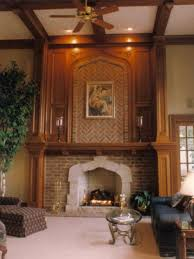 Traditional Two Story Great Room Design Ideas Pictures Remodel Two Story Fireplace