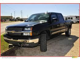 2004 Black Chevrolet Silverado 1500 Z71 Crew Cab 4x4 #20458708 ...