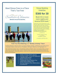 Incentive Flyer Book 30 Rooms In Southern Delaware Get 300