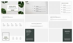 Powerpoint Frame Theme Natural Google Slides Theme And Free Powerpoint Presentation