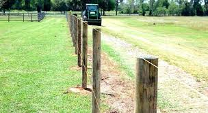 installing fence posts set in concrete or gravel install wood post on without setting mix calculator