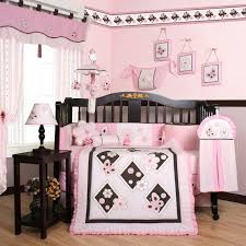 butterfly crib bedding pink and brown cocalo sundae nojo beautiful 9 piece .