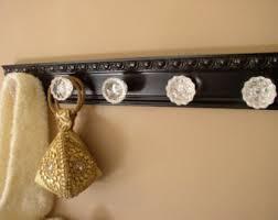 Knob Coat Rack Glass knob coat rack Etsy 49