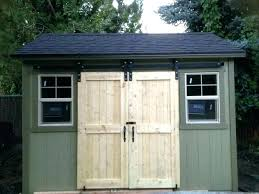 sliding barn door for shed awesome how to build doors building plans org decorating ideas 12
