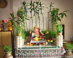 ganpati decoration ideas for home decoration creative and trays