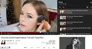 booming industry a new survey has revealed that two fifths of british women are watching videos highlight contour makeup tutorial you