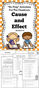 good topic for cause and effect essay cause and effect essay  best ideas about cause and effect cause and a cause and effect activity book for the