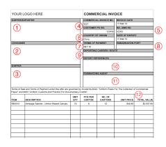 Export Invoice Format In Excel Free Download – Joele Barb
