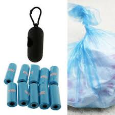 Details About Baby Diapers Disposable Garbage Bags Plastic Portable Case With 10 Waste Bag