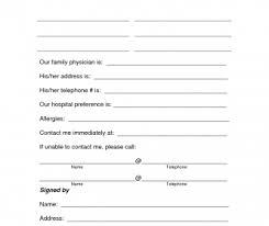 Child Medical Consent Form For Grandparents Child Medical Consent Form Florida Medicaid Authorization For