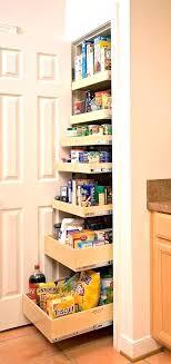 how kitchen closet ideas small pantry door shelves wood