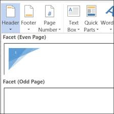 Create Different Headers Or Footers For Odd And Even Pages Word