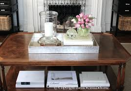 Decorating With Trays On Coffee Tables Captivating Silver Tray Coffee Table In Small Home Decoration Ideas 18