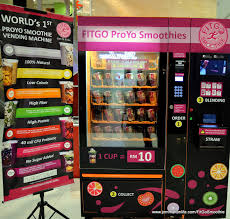 Fruit Smoothie Vending Machine Mesmerizing JOMMAKANLIFE NEW ONTHESPOT FITGO SMOOTHIE