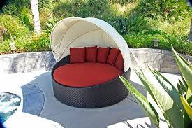 outdoor furniture trends. Patio Trends Wink Canopy Day Bed Harmonia Living Outdoor Wicker Furniture Synthetic C