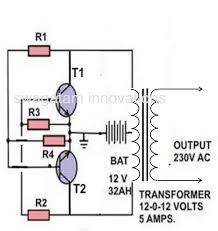 making a simple inverter circuit how to wire an inverter to your house at Battery And Inverter Wiring Diagram