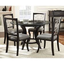 charming dining room furniture reclaimed wood black round table set pallet gray solid for 2 pine