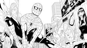 Check out our spider man comics to color selection for the very best in unique or custom, handmade pieces from our shops. Get The First Look Inside Friendly Neighborhood Spider Man Marvel