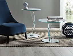 italian glass furniture. Nella Vetrina Modern Italian Designer Glass Small End Table And Accent Handmade Shown In Furniture U