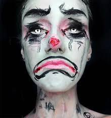 creative makeup ideas clown makeup