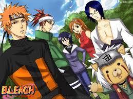 Bleach/ Naruto Crossover. | Bleach characters, Anime, Bleach anime