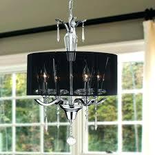 drum shade crystal chandelier black drum shade crystal chandelier lighting s city north black drum shade