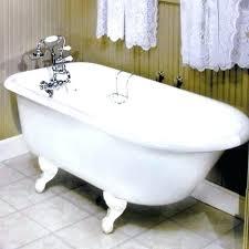 cast iron clawfoot bathtub cast iron bathtub stylish tub throughout tubs bathroom idea faucet vintage cast cast iron clawfoot bathtub