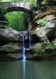 File Upper Waterfalls Old Mans Cave Bridge Vertical West Virginia