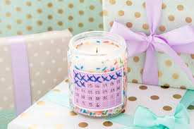 this is an early gift idea make a countdown candle so they can countdown the days until their college life has finally e to an end