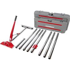 carpet stretcher. roberts power-lok carpet stretcher with 17 locking positions and 18 in. tail block e