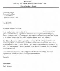 Sample Of Application Letter For Position Perfect Writing A Good Cover Letter For Job Application 19 For