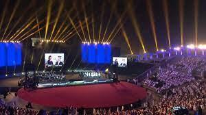 إقبال لافت على حفل محمد عبده وأنغام في الباحة السعودية (صور)