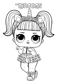 In case you don\'t find what you are looking for, use the top search bar to search again! Lol Surprise Dolls Coloring Pages Print Them For Free All The Series