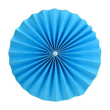 Paper Rosette Flower Cheap 12 Inch Blue Paper Rosettes Flower For Sale On Oitems Com