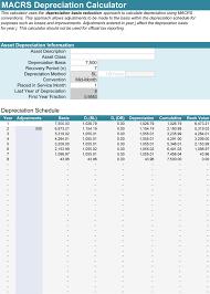 5 Depreciation Calculator Templates For Excel
