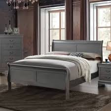 bordeaux louis philippe style bedroom furniture collection. Delighful Bordeaux Furniture Of America Mayday II Paneled Grey Sleigh Bed And Bordeaux Louis Philippe Style Bedroom Collection S