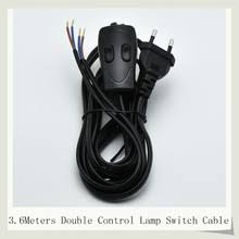 popular lamp switch wiring buy cheap lamp switch wiring lots from Lamp Switch Wiring 3 6m european plug ccc vde lamp switch wire double control switch lamp power cord 308 switch cable 1pc free shipping lamp switch wiring diagram
