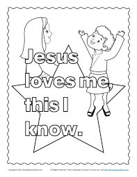 Coloring Pages For Sunday School Preschool Easter Free Printables