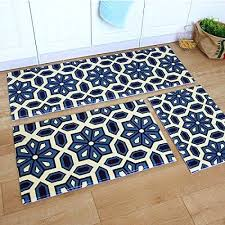 washable kitchen rugs. Kitchen Rugs And Mats Blue Attractive Washable Stylish