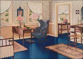 Bedrooms During The 1920s Were All About Color And Pattern. Colors Tended  To Be Soothing, Often Very Pretty And Feminine, With Lots Of Florals And  Pastels, ...