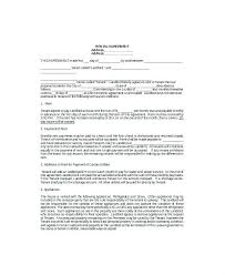 Simple Land Lease Agreement Form Sample Template Word Very ...