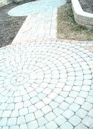 round patio stones round patio stones ideas paving home depot
