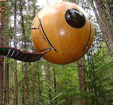 The Cedar Spire Treehouse In Fife Scotland Design By GordonTreehouse Scotland