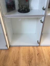 3 x ikea tombo glass doors for besta cabinets