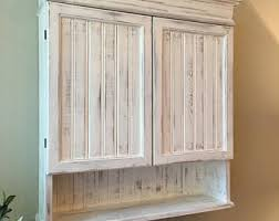 white bathroom wall cabinets. Contemporary Bathroom Distressed White Cabinet Bathroom Kitchen Hanging Wall  Shabby Chich Decorative Cabinet Intended Cabinets