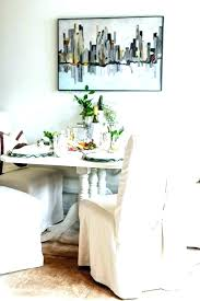 white dining room chair slipcovers fresh reclaimed wood table with chairs cote slip covered dining