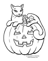 Black Cat Worksheets For Kids Coloring