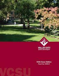 vcsu donor edition 2007 indd valley
