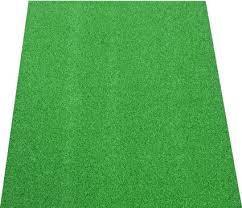 get ations dean premium heavy duty indoor outdoor green artificial grass turf carpet runner rug putting
