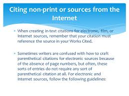In Text Citation For Website Mla Mla Format Works Cited Ppt Video Online Download